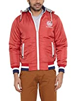 Duke Men Synthetic Red JACKET
