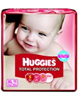 Huggies Total Protection Extra Large Size Diapers (15 Count)