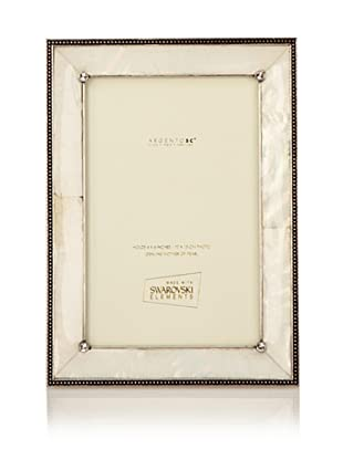 Swarovski by Argento SC Romance Mother-of-Pearl Picture Frame (Ivory)