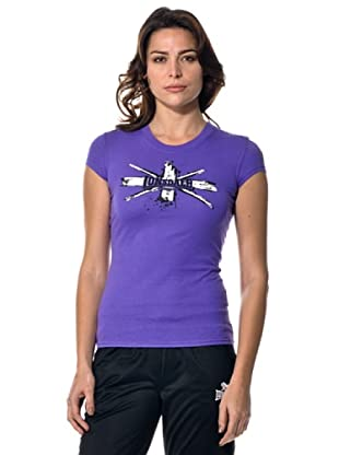 Lonsdale Camiseta Lion Star (Violeta)