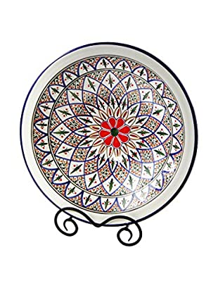 Le Souk Ceramique Tabarka Medium Serving Bowl, Multi