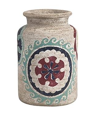 Nevis Small Handpainted Vase