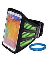 SumacLife Green Workout Gym Armband Pouch Case