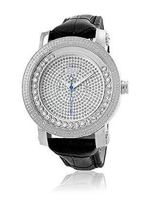 JBW Reloj de cuarzo Man Hendrix Plateado 50 mm