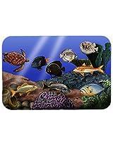 Caroline's Treasures PTW2028CMT Undersea Fantasy 1 Kitchen or Bath Mat, 20 by 30 , Multicolor