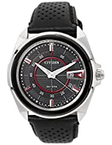 Citizen Eco-Drive Analog Black Dial Men's Watch - AW1060-08E