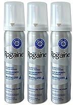 Rogaine Minoxidil 5% Men Hair Loss Foam 3 Months Supply