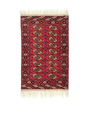 L'Eden del Tappeto Teppich Bukhara rot/mehrfarbig 126t x t80 cm