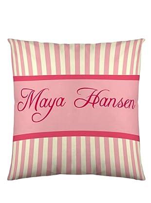 Maya Hansen Funda De Cojín Cupcakes (Rosa / Beige / Verde)