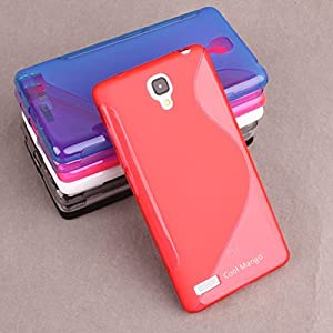 Premium S-Line TPU Case / Cover for Xiaomi Redmi Note (Dual Sim & 4g Models) - Red : by Cool Mango (TM)