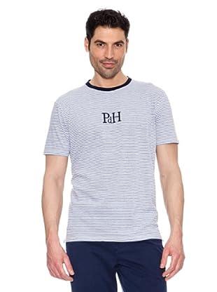 Pedro del Hierro Camiseta Logo (Azul)