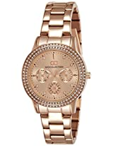 Gio Collection Analog (ROSEGold) Dial Women's Watch - G2013-66