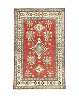 L'Eden del Tappeto Teppich Uzebekistan rot/ecru 180t x t115 cm