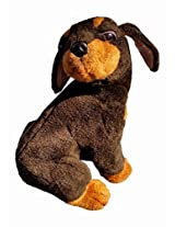 Gund 10.5 Inch Rottweiler Puppy Plush Toy (Collectors Classic)