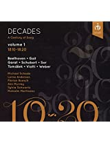 Decades: A Century of Song volume 1, 1810-1820
