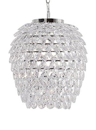 SULION Lámpara De Suspensión Plast Plata/Transparente
