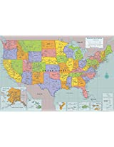 Peel & Stick USA Wall Map