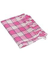 SRS 250 GSM Cotton Napkin Towel 51 x 14 cm- Pink
