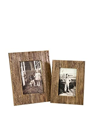 Set of 2 Havana Photo Frames, 4
