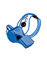 Fox 40 International Whistle Pearl (Pealess) Blue W/ Lanyard