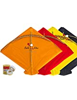 40 Colour Indian Fighter Cheel Kites (Indian Traditional Kites)