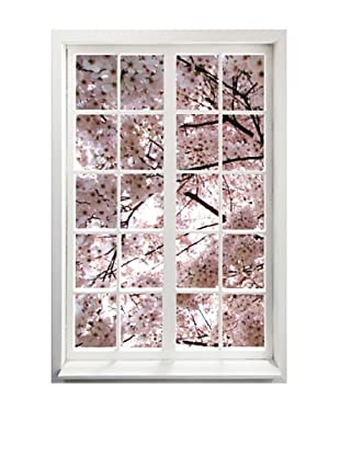 Art Addiction Spring Window III, Vertical