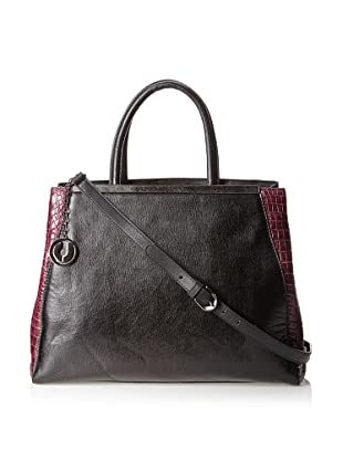 Charles Jourdan Women's Gage Satchel (Black)