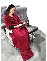Yon Smart Blanket | 3-in-1 Wearable Travel Blanket, Pillow and Foot Warmer. Covers Head-to-Toe!