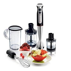 Philips Pure Essentials Collection HR1372 700-Watt Hand Blender (Black)