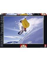 Educa Kids Snowboarder Puzzle (500-Piece)
