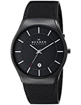 Skagen Analog Black Dial Men's Watch - 956XLTBB