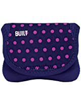 BUILT Neoprene Compact Camera Envelope, Mini Dot Navy