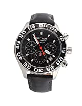 Sector Black Chronograph Men Watch R3271679125