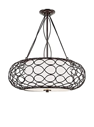 Trans Globe Lighting 3 Light Bird Cage Pendant