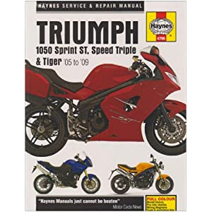 【クリックで詳細表示】Triumph 1050 Sprint ST, Speed Triple & Tiger: 2005 to 2009 (Haynes Service and Repair Manuals) [ハードカバー]