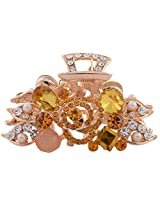 Chemb Golden Metal Hair Clip For Women (00Hy2Lgg-A0515-Ap-368-Gg)