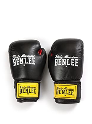 Benlee Guantes Boxeo Leather Fighter (Negro / Rojo)