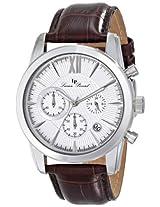 Lucien Piccard Men's LP-12356-02S Mulhacen Analog Display Japanese Quartz Brown Watch