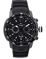 Tommy Hilfiger Mariner Analog Watch For Men Black TH1790889
