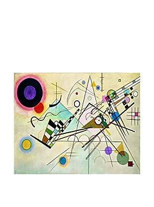 Legendarte Leinwandbild Composizione VIII di Vassily Kandinsky