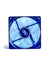 Deepcool Windblade 120 mm Semi Transparent Cooling Fan with Blue LED (Black)
