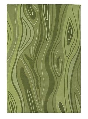 Chandra Inhabit Rug, Green, 5' x 7' 6
