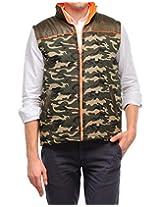 Yepme Men's Green Polyester Jacket-YPMJACKT0125_L