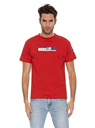 The Indian Face Camiseta MC Logo (Rojo)