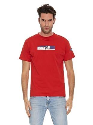 The Indian Face Camiseta MC Logo (Rojo)