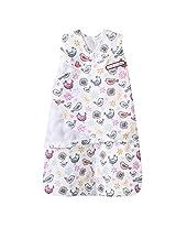 HALO SleepSack 100% Cotton Swaddle, Pink Bird, Small