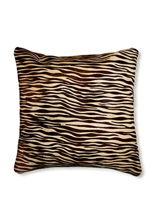 Natural Torino Cowhide Pillow (Baby Tiger Print)