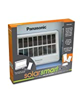 Panasonic Solarsmart Portable Solar Power For Mobile Devices Solar Chargers - White/Black
