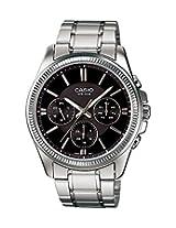 Casio Enticer Black Dial Men's Watch - MTP-1375D-1AVDF (A836)
