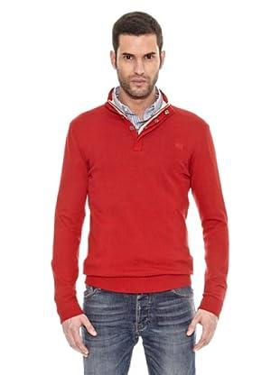 Bendorff Jersey Cuello Botones (Rojo)